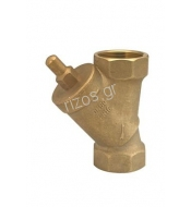 Brass-angle-seat-valve, BSP double female threaded