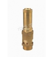 Brass-prop.-safety-valve type HEROSE